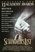 Póster de La lista de Schindler