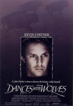 Póster de Bailando con lobos