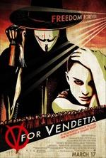 Póster de V de Vendetta