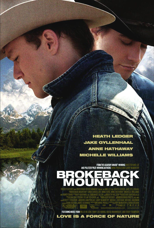 Póster de Brokeback Mountain
