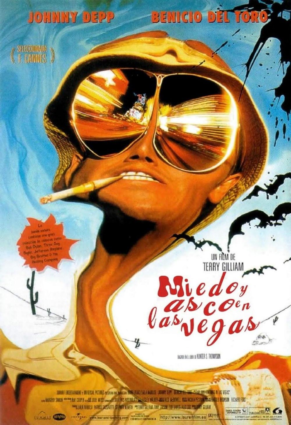 Póster de Miedo y asco en Las Vegas