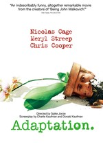 Póster de Adaptation (El ladrón de orquídeas)