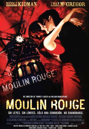 Póster de Moulin Rouge