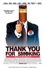 Póster de Gracias por fumar