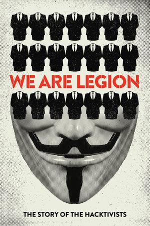 Póster de Somos legión. La historia de los hacktivistas