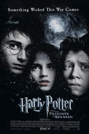Póster de Harry Potter y el prisionero de Azkaban