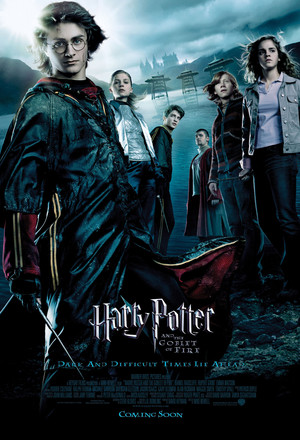 Póster de Harry Potter y el cáliz de fuego