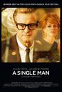 Cartel de Un hombre soltero