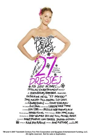 Póster de 27 vestidos