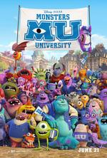 Póster de Monstruos University