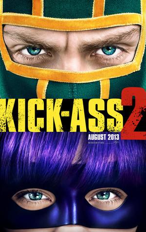 Póster de Kick-Ass 2: con un par
