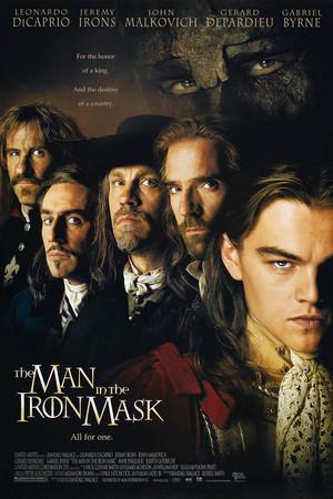 Póster de El hombre de la máscara de hierro
