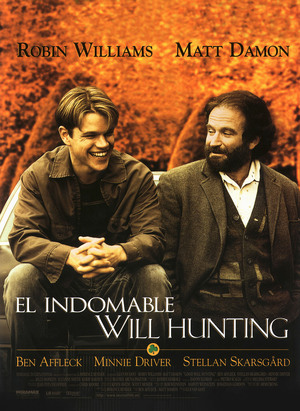 Póster de El indomable Will Hunting