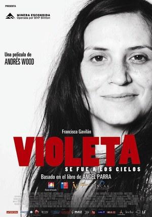 Póster de Violeta se fue a los cielos