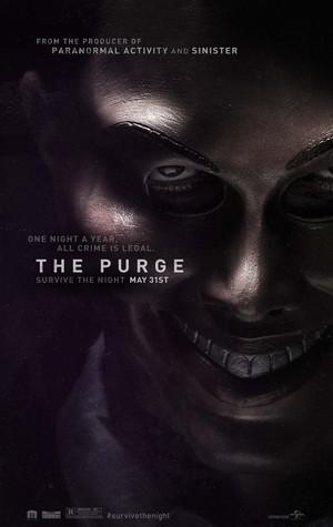 Póster de The Purge: La noche de las bestias