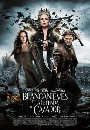 Póster de Blancanieves y la leyenda del cazador