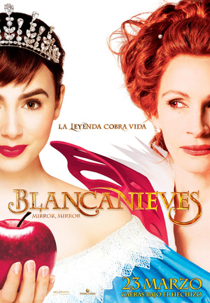Póster de Blancanieves (Mirror, Mirror)