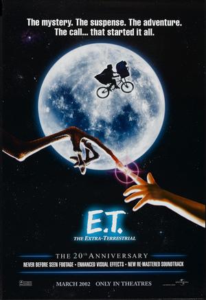 Póster de E.T. El extraterrestre