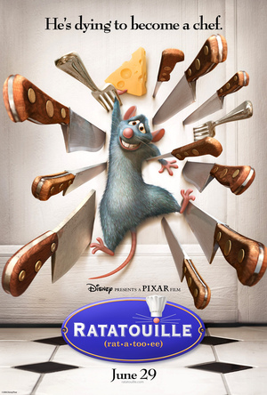 Póster de Ratatouille