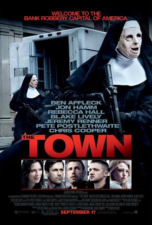 Póster de The Town. Ciudad de ladrones