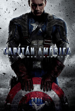 Póster de Capitán América: El primer vengador