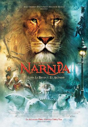 Póster de Las crónicas de Narnia: El león, la bruja y el armario