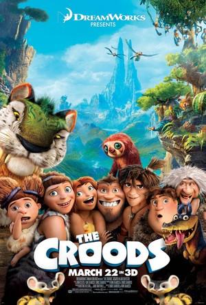 Póster de Los Croods: Una aventura prehistórica