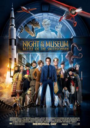 Póster de Noche en el museo 2