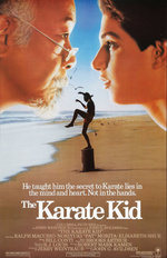 Póster de Karate Kid, el momento de la verdad