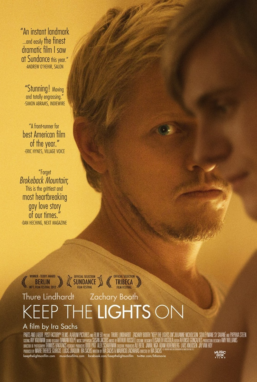 Póster de Keep the Lights On