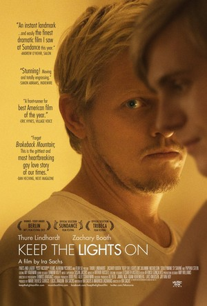 Póster de Keep the Lights On