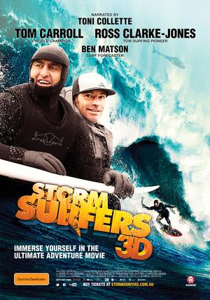 Póster de Storm Surfers 3D