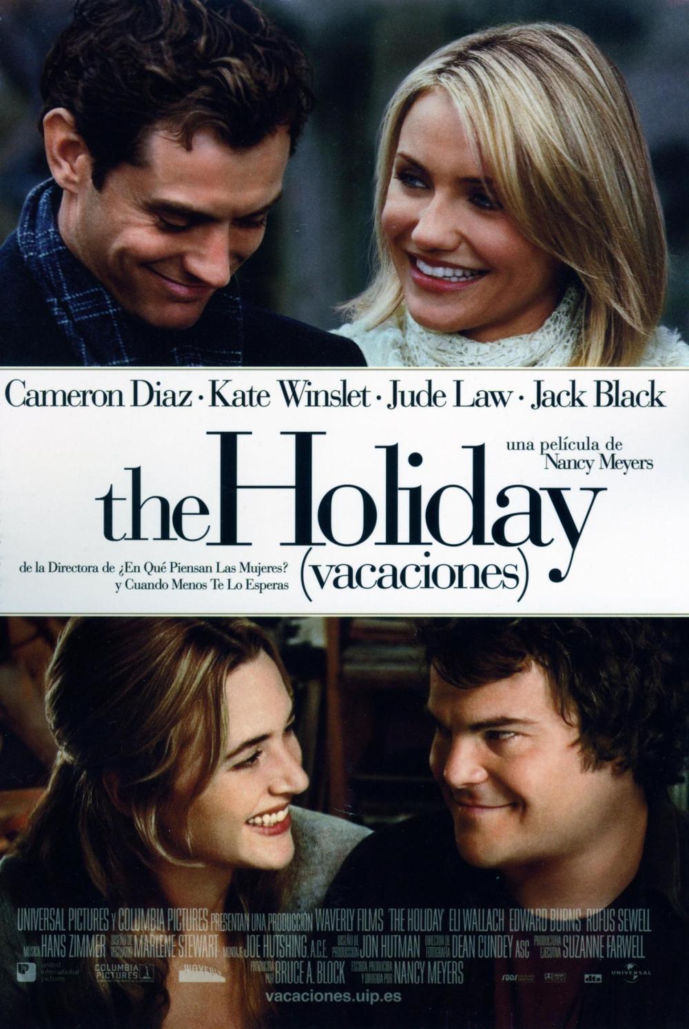 Póster de The Holiday (Vacaciones)