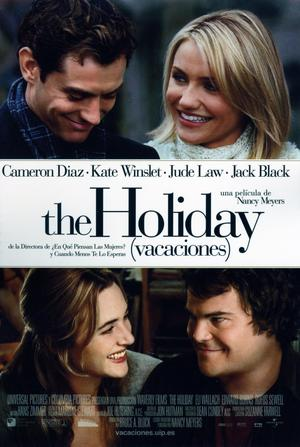 Póster de The Holiday (Vacaciones)