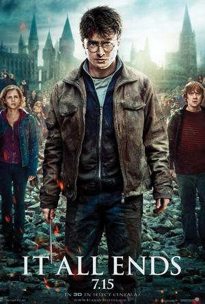 Póster de Harry Potter y las reliquias de la muerte - Parte 2