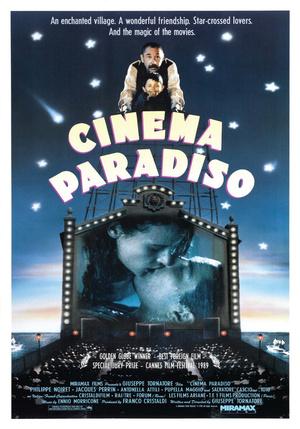Póster de Cinema Paradiso
