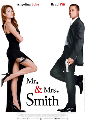Póster de Sr. y Sra. Smith