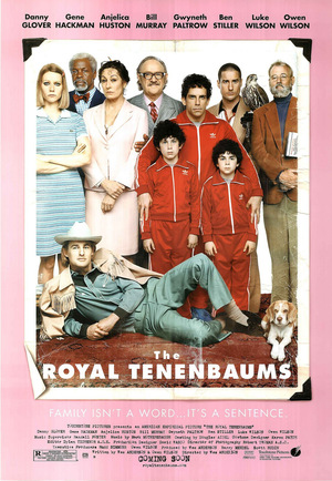Póster de Los Tenenbaums. Una familia de genios