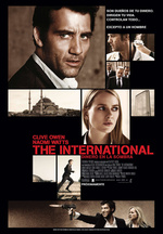 Póster de The International: dinero en la sombra