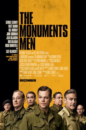 Póster de The Monuments Men