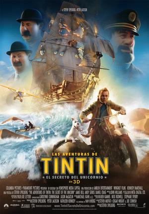 Póster de Las aventuras de Tintín: El secreto del Unicornio