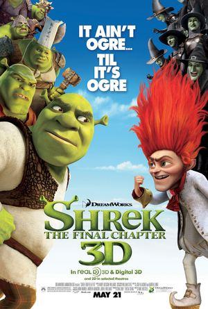 Póster de Shrek, felices para siempre