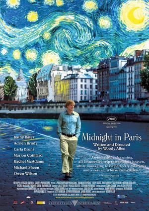 Póster de Midnight in Paris