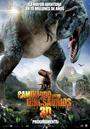 Cartel de Caminando entre dinosaurios 3D