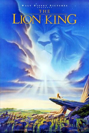 Póster de El rey león