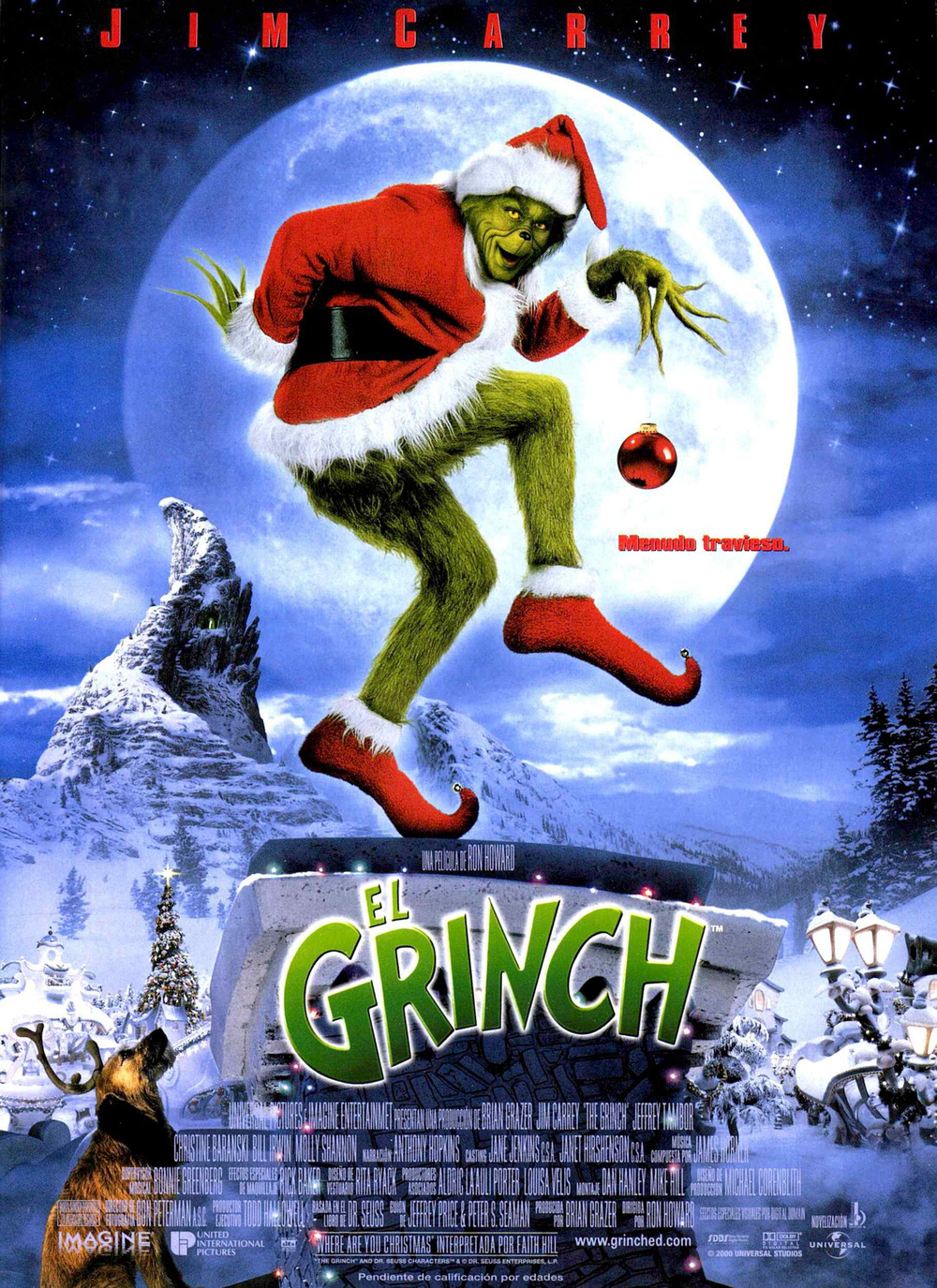 Resultado de imagen para el grinch poster