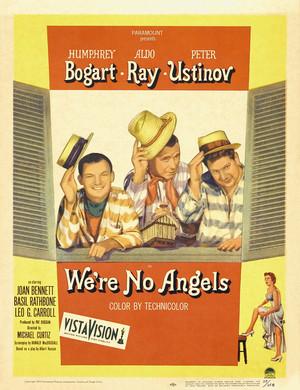 Póster de No somos ángeles