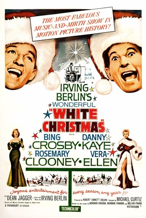 Póster de Navidades blancas