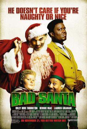 Póster de Bad Santa