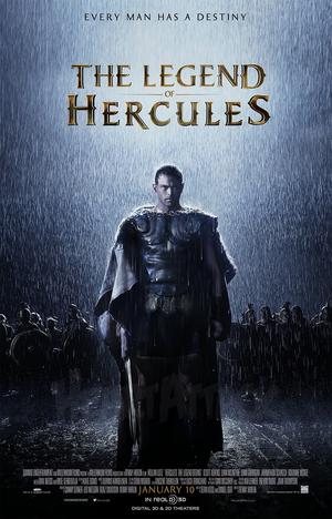 Póster de Hércules: El origen de la leyenda
